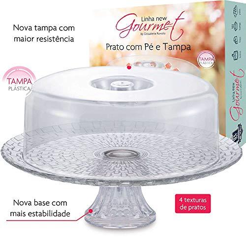 Prato C/Pé E Tampa Gourmet