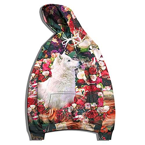 SSBZYES Suéter con Capucha para Hombre, Chaqueta De Suéter De Gran Tamaño para Hombre, Camisa De Pareja con Estampado De Moda, Suéter De Mujer, Camiseta Informal De Manga Larga