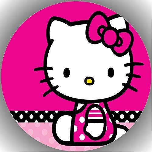 Fondant Tortenaufleger Tortenbild Geburtstag Hello Kitty AMA3