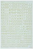 プラッツ 1/72 WWII英コードレター4(スカイ タイプS) デカール KD7-7