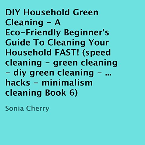 DIY Household Green Cleaning, Book 6 cover art