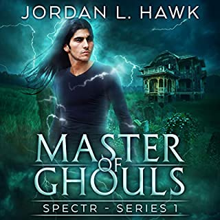 Master of Ghouls audiobook cover art