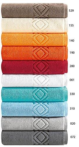 Badvorleger, Badematte, Badteppich 'Denver'- Aus 100% Baumwolle, in 10 Farben und 3 Größen,...
