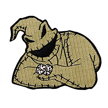 Oogie Boogie Nightmare Before Christmas Character Craft Iron On Applique Patch