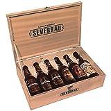 Estuche de Cerveza para Regalar con 6 Botellas Sevebrau Artesanas Surtidas 33 cl