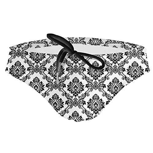 XCNGG Braguitas de Bikini con cordón para Hombre Traje de baño-X-Large