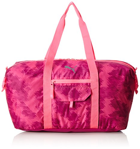 PUMA Fit at Workout Bag Sporttasche, Knockout pink-Ultra Magenta-Graphic, 50 x 30 x 1.5 cm