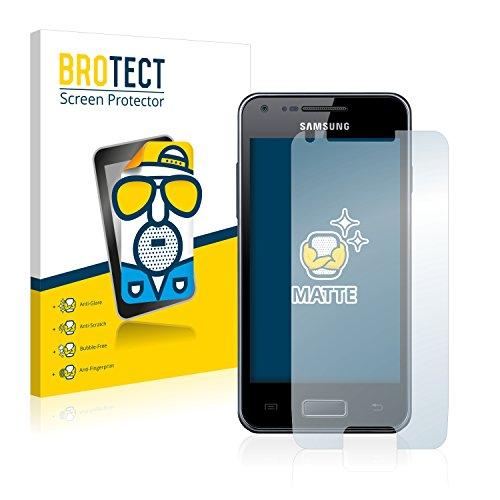 brotect Pellicola Protettiva Opaca Compatibile con Samsung Galaxy S Advance Pellicola Protettiva Anti-Riflesso (2 Pezzi)