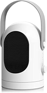 GXDHOME Calefactores Mini Calentador eléctrico Ajustable, Winter Home Desktop Wall Portable Portable Stove Warm Air Ventilador Radiador Máquina (600W, 220V)
