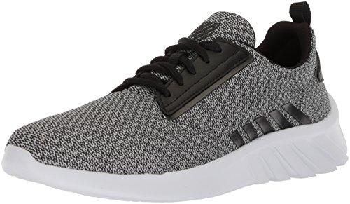 K-Swiss Damen Aeronaut Sneaker, Grau (High-Rise/Black/White), 39.5 EU