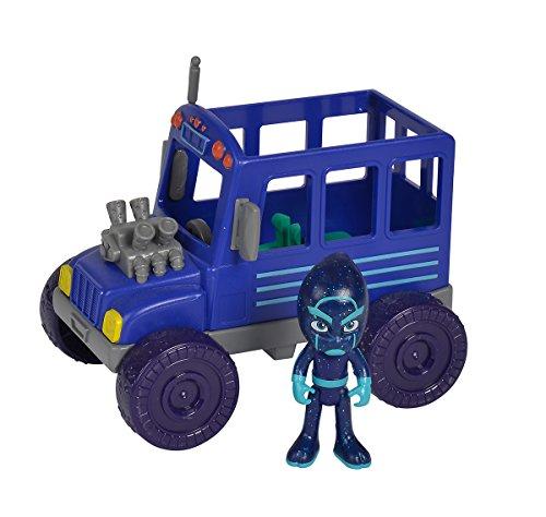 Simba 109402228–PJ Máscaras Ninja con Front con figura de juguete