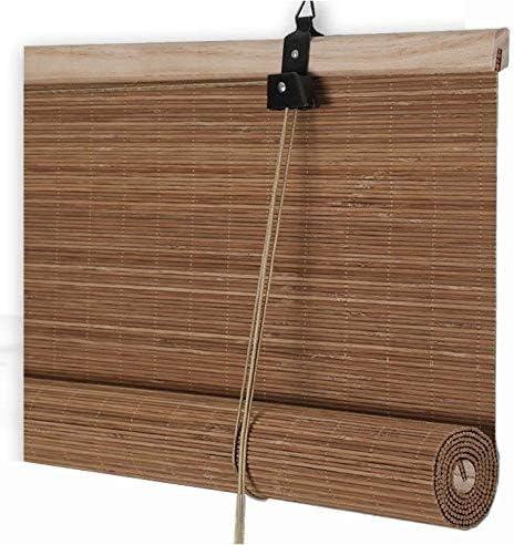 Bambú persiana Contacto protección de Ciegos Persianas Roll ...