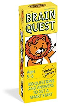 Brain Quest Kindergarten Revised 4th Edition  300 Questions and Answers to Get a Smart Start  Brain Quest Decks