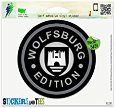 Wolfsburg Edition Vinyl Sticker Small Window Bumper Phone Decal 2