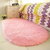 Tauser Nuevo hogar Dormitorio Felpudo Piso sólido Suave Antideslizante alfombras Alfombras