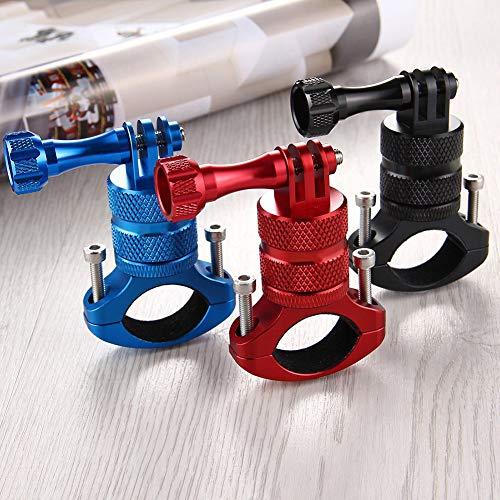 perlo33ER 360 Grad Aluminium Lenkstange Fahrrad Fahrradhalterung Halter Clamp für GoPro