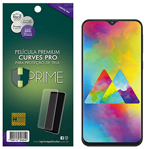 Pelicula Curves Pro para Samsung Galaxy M20, HPrime, Película Protetora de Tela para Celular, Transparente