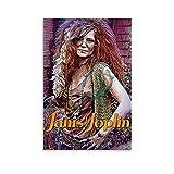 CHIYUE Rocksänger Janis Joplin Poster Druck auf Leinwand