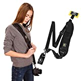 Y8HM Camera Shoulder Strap with Quick Release Buckle, Camera Neck Sling Strap Belt