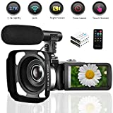 Best Blogging Cameras - Seree Camcorder Video Camera 2.7K WiFi Vlogging Camera Review