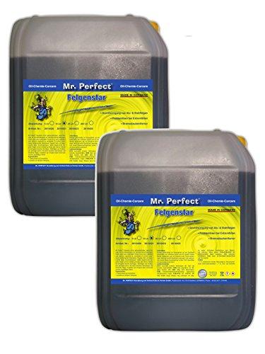 Mr. Perfect® Felgenstar, Felgenreiniger Konzentrat für Alu & Stahlfelgen - 2 x 10 Liter