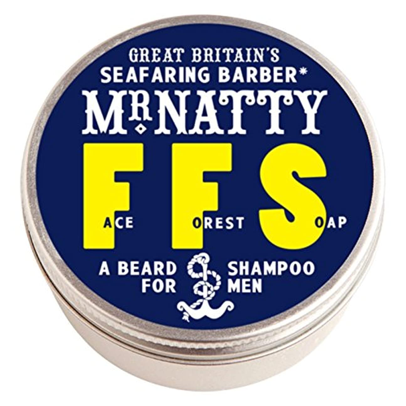 業界貸し手スナップミスター粋の森林顔ひげシャンプー (Mr Natty) (x6) - Mr Natty's Forest Face Beard Shampoo (Pack of 6) [並行輸入品]