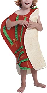 zhbotaolang Halloween Costume Carnival Mexican Roll Funny Dancing Outfit Children S