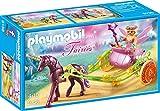 Playmobil- Fée avec carrosse et Licorne, 9136, Norme