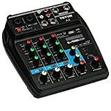 LIANGLEY Conjunto De Sistema De Mezclador De Micrófono De Karaoke...