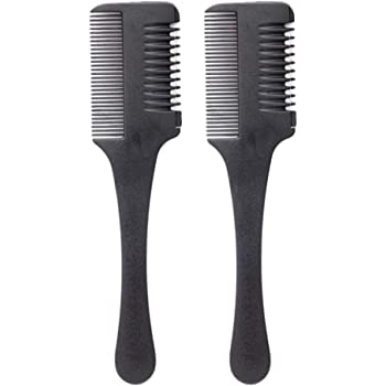 Minkissy Hair Cutter Comb, 2pcs Hair Thinner Comb Shaper