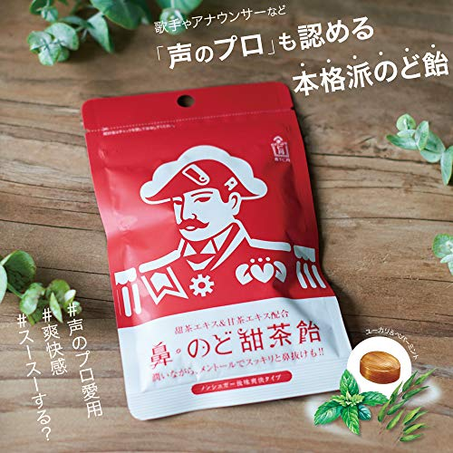 森下仁丹鼻・のど甜茶飴38g×5袋のど飴ノンシュガーメントール
