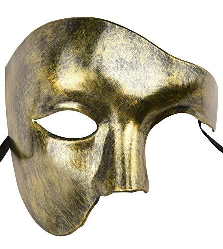 KEFAN Mascarilla para Hombre Máscara para Disfraz Fantasma