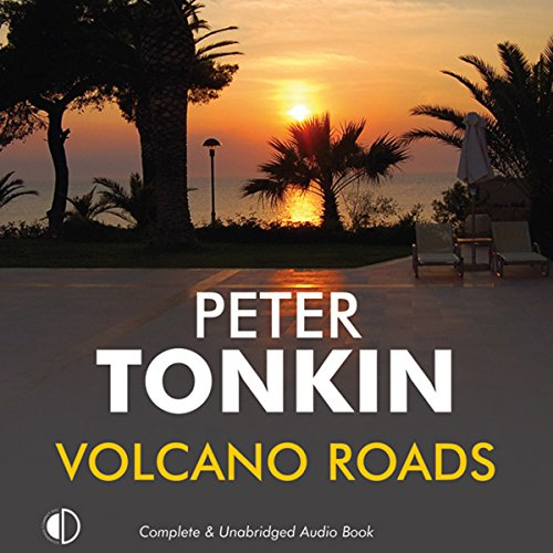 Volcano Roads audiobook cover art