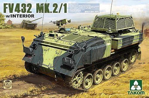 British APC Fv432 Mk 2 1 with Interior