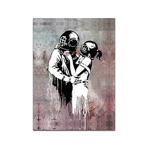 Graffiti-Gemälde Poster Printswall Art Picture Home Decoration für Wohnzimmer 50x70cm