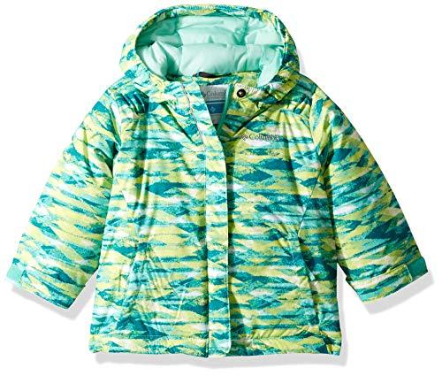 Columbia Girls' Toddler Horizon Ride Jacket, Pixie Blanket Print, 2T