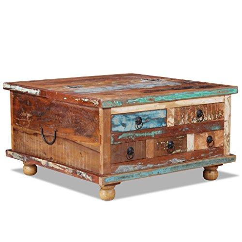 Cangzhoushopping salontafel oud hout 70 x 70 x 38 cm meubels tafels siertafels salontafels