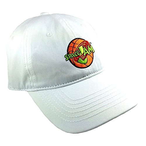 White Space Jam Embroidered Logo Adjustable Dad Hat