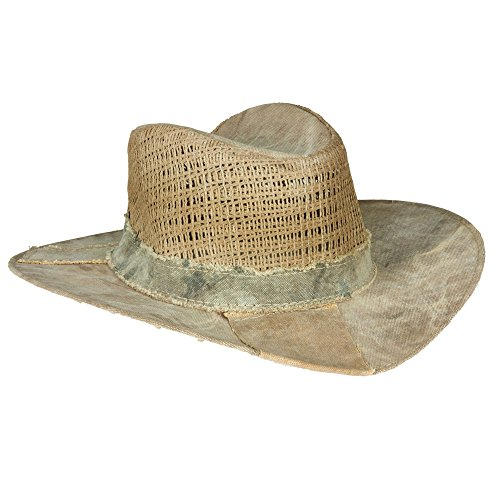 The Real Deal Brazil Brisa Hat (XX-Large, Canvas)