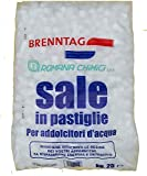 Sale in Pastiglie 25 Kg per Addolcitori Ebollizione per Resine Depuratori Addolcitori
