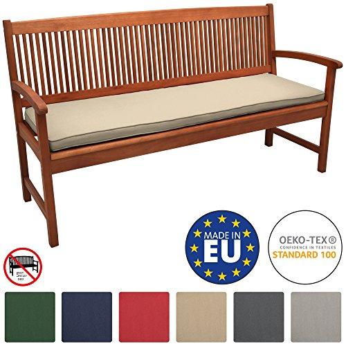 Beautissu Loft BK bankkussens voor tuinbank zitkussens in verschillende maten en kleuren met Oeko-Tex