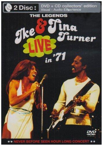 Tina Turner et Ike : Live in '71 (inclus 1 CD)