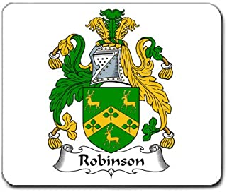 Robinson Family Crest Coat of Arms Mouse Pad
