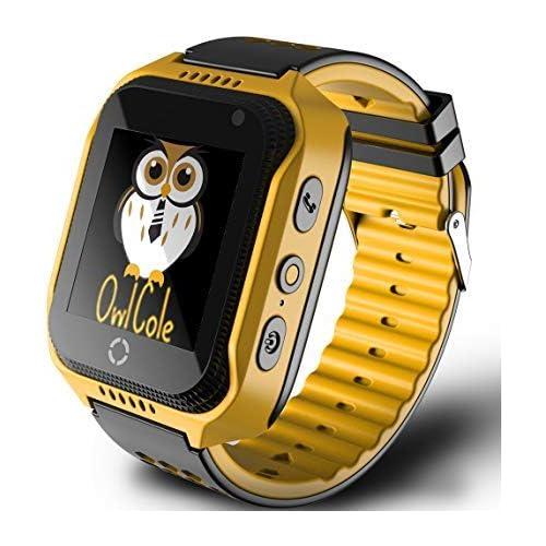 Smart Watch Kids GPS Tracker Best Phone Watch Birthday Camera Touchscreen SOS Pedometer iPhone Android Smartphone Children Boys Girls
