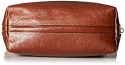 Fossil Women's Maya Leather Small Hobo Handbag, Brown