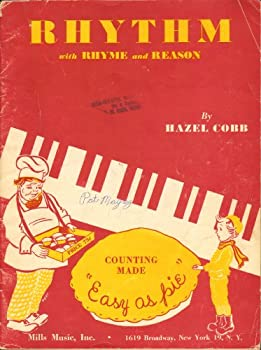 """Sheet music Rhythm with Rhyme and Reason: Counting Made """"Easy as pie"""" Book"""