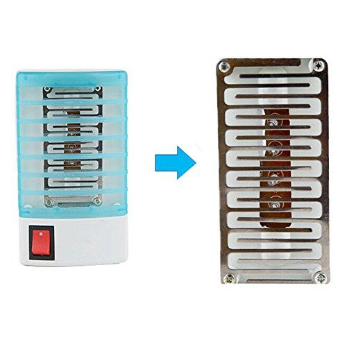 VLUNT Multifonctions Mini Prise Électrique Anti-moustiques 220 V, Destructeurs d'insectes, Veilleuse Prise LED Lampe de Chevet