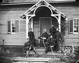 New 11x14 Civil War Photo: Union Provost Marshal Marsena Patrick & staff, Culpeper