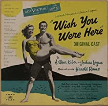 WISH YOU WERE HERE (1952 ORIGINAL CAST LP, REISSUE, 1960)