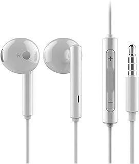 HUAWEI Auriculares originales AM-115 en blanco Ascend G6 auriculares con control de volumen y micro